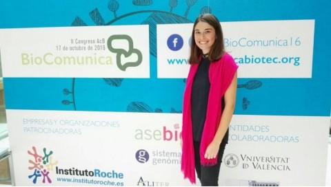 Adriana Terrádez participa hoy en el II Congreso BioComunica