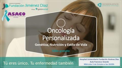 BioSequence organiza un taller gratuito para pacientes en la Fundación Jiménez Díaz