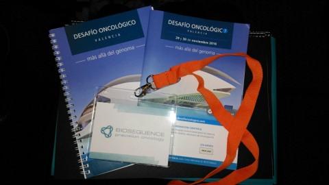 """BioSequence colabora en el Congreso """"Desafío Oncológico: más allá del genoma"""""""
