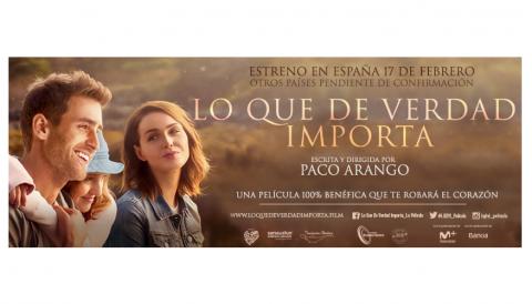 Lo que de verdad importa – Una película 100% benéfica