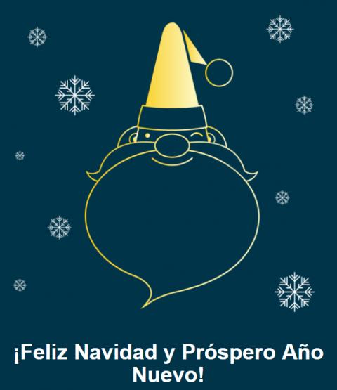 ¡Felices Fiestas y Feliz Año 2018!