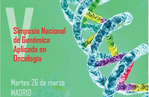 OncoDNA colabora un año más en el Simposio Nacional de Genómica Aplicada en Oncología