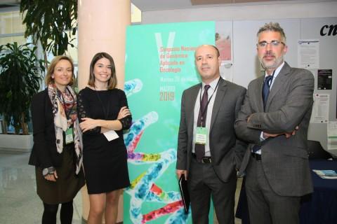 OncoDNA en el V Simposio Nacional de Genómica Aplicada en Oncología