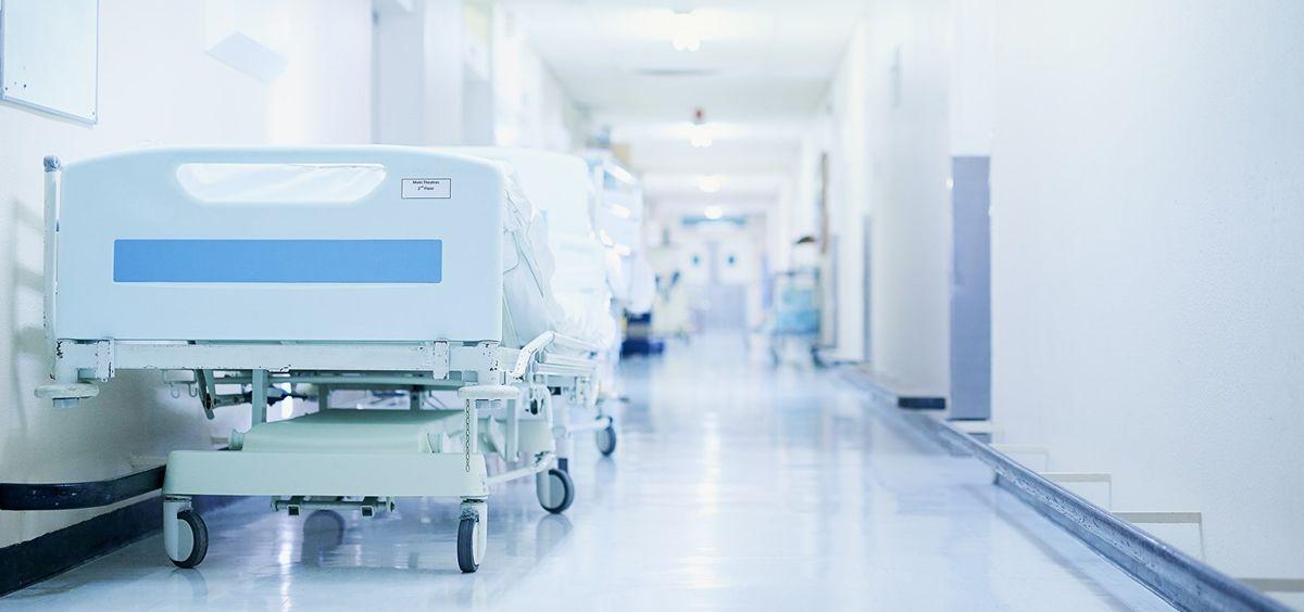 pasillo-de-un-centro-hospitalario-foto-xunta-de-galicia