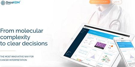 OncoKDM: plataforma en línea de análisis e interpretación de datos genómicos para facilitar la toma de decisiones oncológicas.